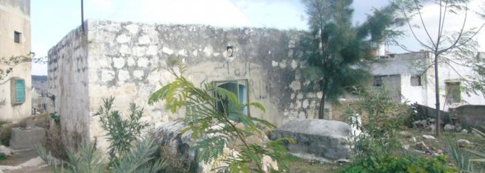 احد البيوت الاثرية في البلدة